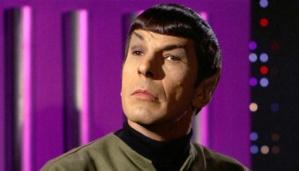 """Leonard Simon Nimoy pemeran karakter Mr. Spock dalam serial STAR TREK episode """"Spock's Brain."""", 20 September1968. Leonard Nimoy meninggal dalam usia 83 tahun akibat penyakit paru-paru yang dideritanya. CBS via Getty Images"""
