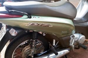 Honda Biz 125 flex-fuel motorcycle, Maringa, Brazil