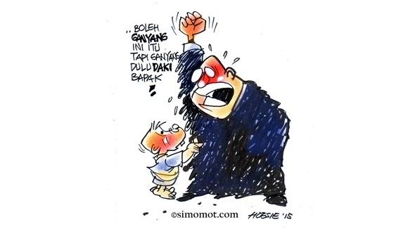 Kartun hari ini simomot 27 April 2015