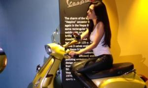 Vespa S 125. (Tribunnews)