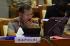 Kapolri Jenderal Badrodin Haiti mengikuti rapat kerja dengan Komisi III DPR di Komples Parlemen, Jakarta, Kamis (2/7). ANTARA FOTO/Akbar Nugroho Gumay