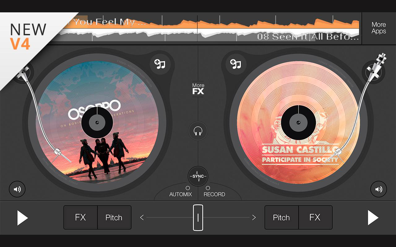 Edjing adalah aplikasi mixer yang bisa Anda jadikan sebagai alat ...