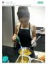 Ariel Tatum memasak.