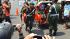 Razia Dompet Kempes dari TNI untuk pengayuh becak di Solo. (Facebook Kopral Partika Subagyo)