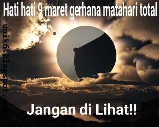 Dp Bbm Gerhana Matahari Meme Lucu